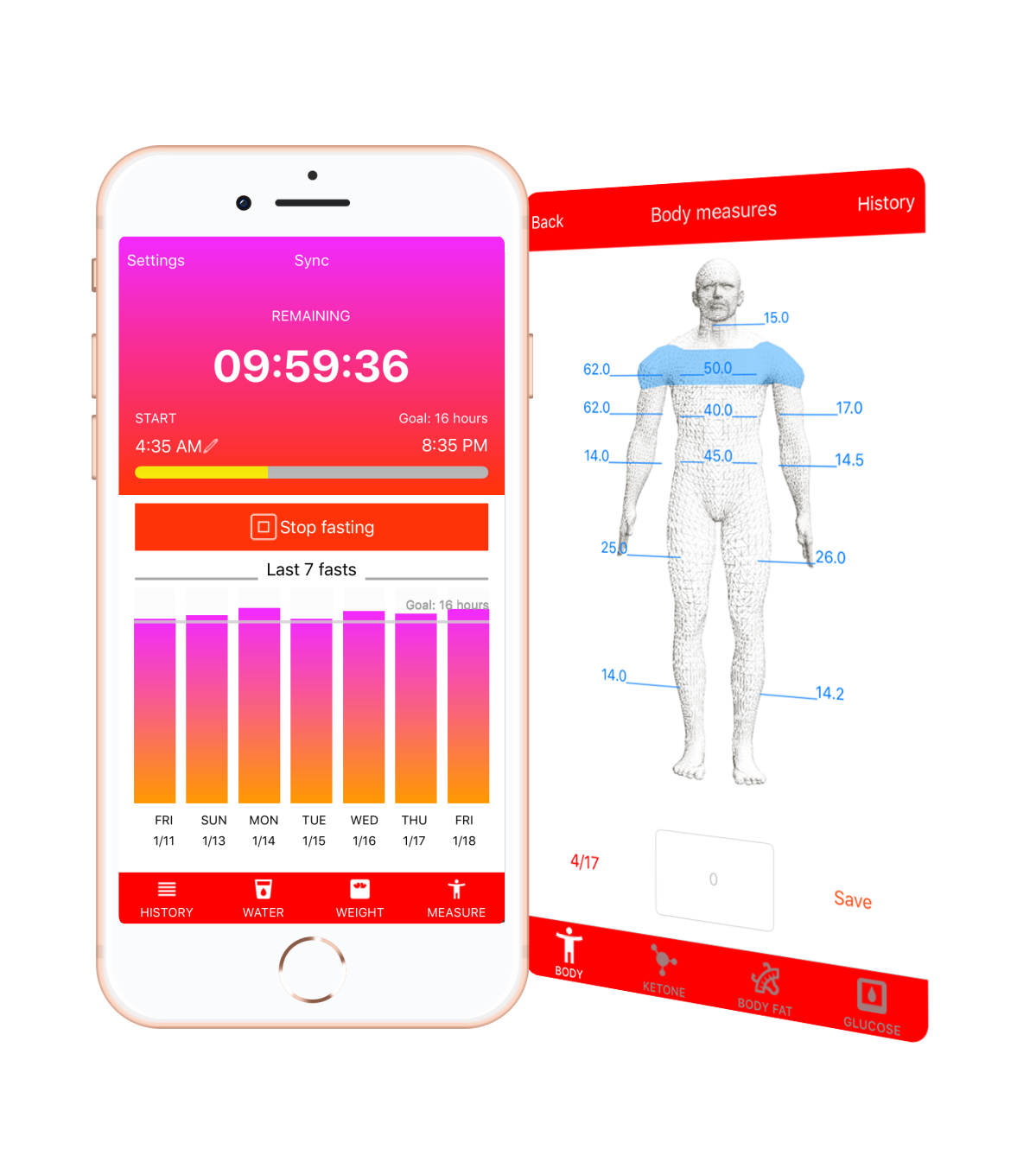 Zero Calories - fasting tracker for weight loss